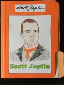 Front of Joplin lapbook!