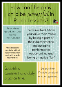 How I can Help My Child with Piano Lessons